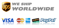 We Ship Worldwide Accept Major Credit Cards